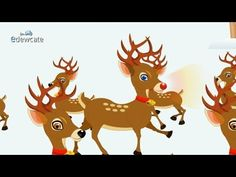 Rudolph the Red-Nosed reindeer - Christmas songs for kids