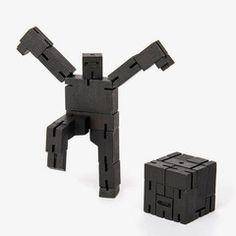 Cubebot micro van Areaware / black