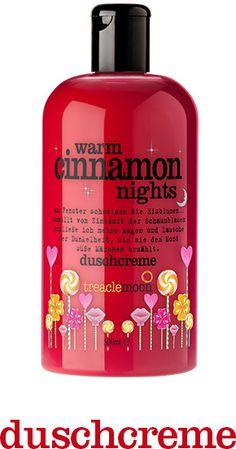 Ich brauch unbedingt diese Duschcreme....love cinnamon