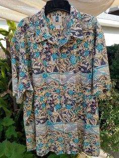 Kahala Men's 100% Cotton Camp Shirt Abstract Pineapple Fields XXL EUC | Clothing, Shoes & Accessories, Men's Clothing, Casual Shirts | eBay!