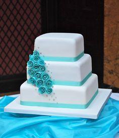 tiffany wedding cake ideas | Tiffany Rose | Heathers Cakes - Designer Wedding and Birthday Cakes ...
