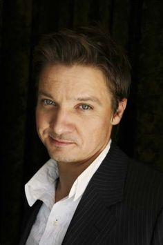 Jeremy Renner he's just a cutie