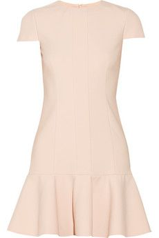 REDValentino Paneled ponte dress | NET-A-PORTER