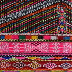 tichtach - un libro de registro creativa: Kelim - neón y patrones