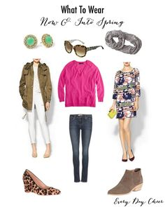 What to Wear Now and Into Spring
