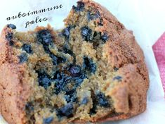 AIP Blueberry Muffins are the best! They're egg-free, moist, yet just-right in the middle, designed for autoimmune protocol, dairy-free and delicious! My whole family loves these, even those who can eat eggs and dairy...