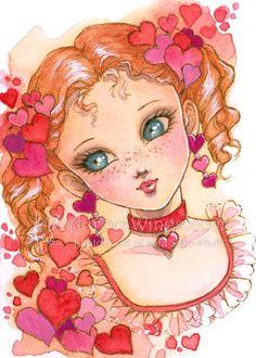 Valentine Girl by aruarian-dancer.deviantart.com on @deviantART