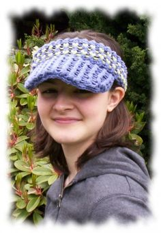 knifty knitter blanket round loom | Knifty Sports Cap: Loom Knitting Pattern | gettinitpegged - Patterns ...