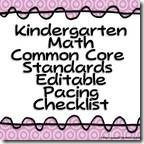 Kindergarten Common Core Pacing Guide Checklist-Math and Literacy (Editable) Common Core Curriculum, Common Core Math, Common Core Standards, Kindergarten Assessment, Kindergarten Classroom, Classroom Ideas, Data Binders, Data Notebooks, Word Work Stations