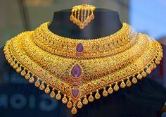 Necklace in a Dubai jewelry