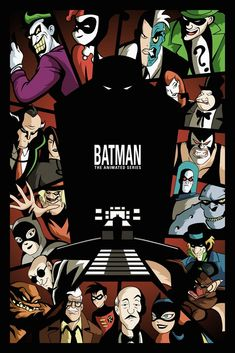 Batman: The animated series tribute by Spaceman (Khoa Ho) Batman Et Superman, Batman Art, Spiderman, Batman Cartoon, Batman Robin, Nightwing, Batgirl, Catwoman, Dc Universe