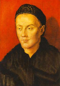 Portrait of a Man, c 1504, Albrecht Dürer -