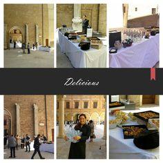 """""""L'eleganza non è farsi notare ma farsi ricordare"""" (Giorgio Armani)                                             LPM Catering presente all'evento Moda Makers presso Palazzo dei Pio a Carpi #event #food #cit #lpmcatering #Carpi"""