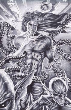#Darkness #Fan #Art. (DARKNESS COVER) By: Bonesdeviant. (THE * 5 * STÅR * ÅWARD * OF: * AW YEAH, IT'S MAJOR ÅWESOMENESS!!!™) ÅÅÅ+