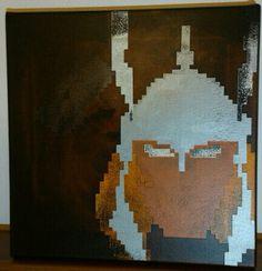 Thor, Comic, minimalistic, Pixel, 8 Bit, Canvas