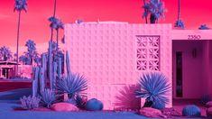 Kate Ballis' infrared photos display California modernism in vivid hues