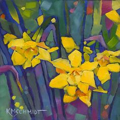 K.M. Schmidt Floral & Garden paintings
