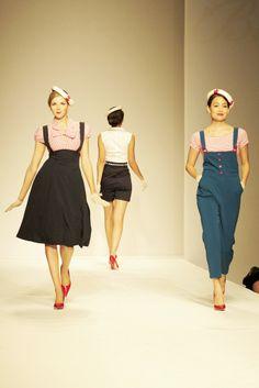 Bettie Page Clothing RTW Spring 2014 - Slideshow - WWD.com