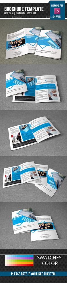Corporate Brochure Template-V289 - Corporate Brochure Template InDesign INDD. Download here: http://graphicriver.net/item/corporate-brochure-templatev289/12330797?s_rank=1712&ref=yinkira