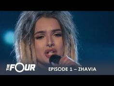Zhavia: She's Only 16 But Wait What Happens When She Opens Her Mouth | S1E1 | The Four - YouTube