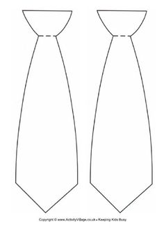 Tie template