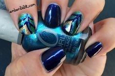 Peacock Feather Nails | BlogHer