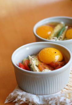 gourmets {amadores}: Ovos 'en cocotte' ou conforto numa tigela