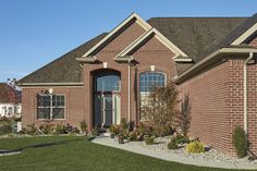 Our most diverse colour offering! Crossroad Series emulates the rich, yet rugged tone of red clay found exclusively in Indiana. Local Contractors, Brick Block, Brickwork, Future House, Construction, Exterior, Queen, Mansions, Brick Homes