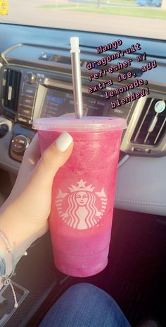 Summer Starbucks Drink☀️ Summer Starbucks Drink ˜ .Summer Starbucks Drink☀️ Summer Starbucks Drink☀️ Summer Starbucks Drink☀️ Summer Starbucks Drink☀️Learn how to make the 'Pink Drink' at home to increase the offer Café Starbucks, Starbucks Hacks, Bebidas Do Starbucks, Healthy Starbucks Drinks, Starbucks Secret Menu Drinks, How To Order Starbucks, Starbucks Frappuccino, Yummy Drinks, Starbucks Refreshers