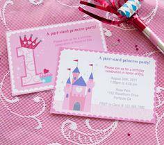 Resultado de imagen para princess invitations