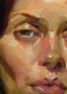 """Crimson Mane"" (close-up), John Larriva art Painting People, Figure Painting, Painting & Drawing, John Larriva, Portrait Art, Face Art, Figurative Art, Painting Techniques, Art Drawings"