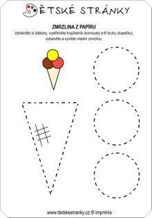 Ice-cream template