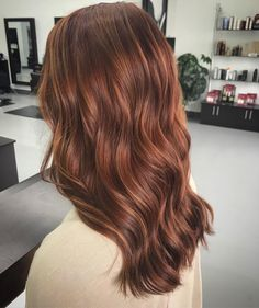 Burgundy Brown - 40 Red Hair Color Ideas – Bright and Light Red, Amber Waves, Ginger Hair Color - The Trending Hairstyle Hair Color Auburn, Red Hair Color, Medium Auburn Hair, Brown Auburn Hair, Hair Medium, Medium Long, Purple Hair, Brown Blonde Hair, Brunette Hair