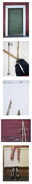 (Cross-)country skiing