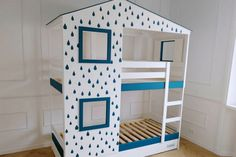 Playhouse bed for two: IKEA MYDAL hack - IKEA Hackers