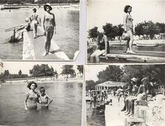 Büyükada, Yörükali plajı 1962 / Prinkipo island, Yörük Ali Beach.