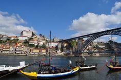 Porto, Portugal - Cais da Vila Nova de Gaia.