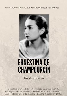 Resultado de imagen de Ernestina de Champourcín