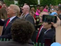 """You win some, you lose some (hats). President Donald Trump signed autographs for a crowd at the Easter Egg Roll at the White House on Monday, but at least two people left sans one hat. In a video posted by Politico, Trump signed two """"Make America Great Again"""" hats handed to him in a crowd. After he signed them, he proceeded to toss them up in the air and into the gathered crowd instead of handing them back. One person who thanked Trump initially for signing his hat simply said """"no!"""" after…"""