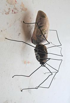 Textile spider by Mister Finch