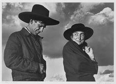 Georgia O'Keeffe and Orville Cox, 1937