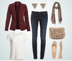 The Burgundy Blazer