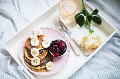 MarenViks: The best healthy Pancakes. Waffles, Pancakes, Healthy Cooking, Donuts, Panna Cotta, Cupcake, Breakfast, Ethnic Recipes, Mille Crepe