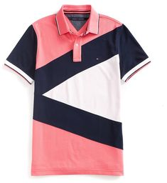 Shop for Tommy Hilfiger Final Sale-Custom Fit Pieced Polo at ShopStyle.