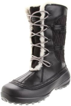 Columbia Mens Backramp Techlite Insulated Waterproof Winter Snow Boots (Black