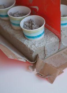 DIY Cement Candleholders       Design Mom