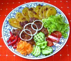 Čevapčiči :: Domací kuchařka - vyzkoušené recepty Cobb Salad, Tacos, Mexican, Ethnic Recipes, Mexicans