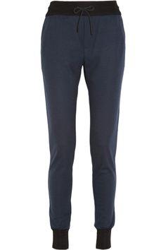 Rag & bone|Wool-jersey tapered track pants|NET-A-PORTER.COM
