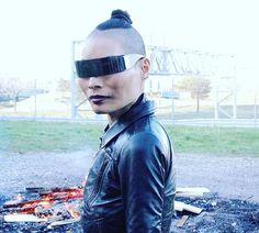 FIRE    SHADES FROM @maisonmargiela  . . #rickowens #maisonmargiela #leather #black #hun #detroit #allblack #potd #streetstyle #style #edge #street #fashion #bnw #darkstyle #fashiondaily #outfitoftheday #moda #mode #streetwear #dark #fashionweek #darkwear #instastyle #model #instafashion #korean #goth #silhouette #hwahwalala