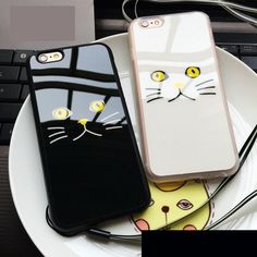 Lovely Cat Painted Phone Case //Price: $8.99 & FREE Shipping //     #birthdaygifts
